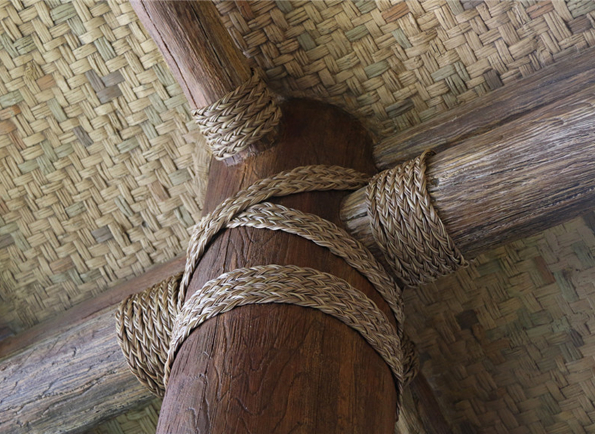 KEBA Synthetic Thatch Lashing - Shanghai Disney Project